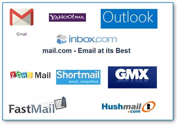 Top 5 Mailing Website in 2018